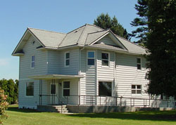 Photo of the Olson Heritage Farmhouse